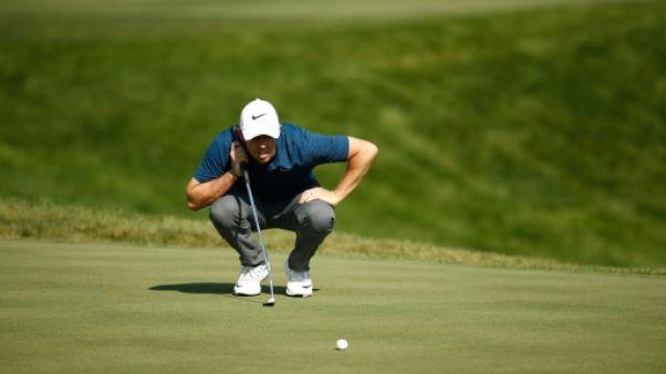 Golf: McIlroy veut redevenir N.1 mondial malgré son problème cardiaque