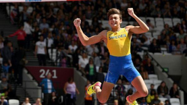 Athlétisme: Duplantis lance sa saison en beauté à la perche (5,83 m)