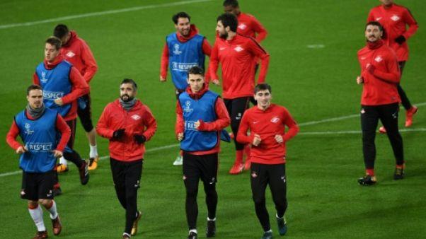 Russie: un tweet raciste du Spartak Moscou fait scandale