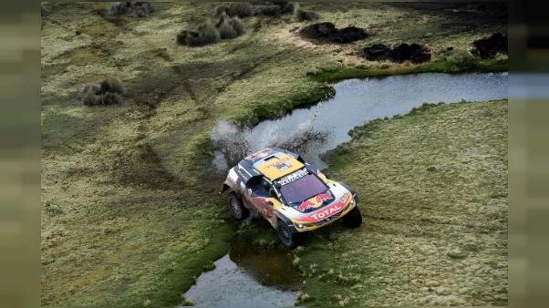 Dakar: Peterhansel s'embourbe en Bolivie, Sainz nouveau leader