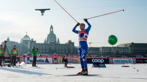 Ski de fond: Pellegrino mène l'Italie à la victoire au sprint par équipes à Dresde