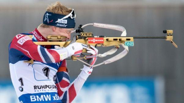 Biathlon: Boe vainqueur devant Fourcade et Guigonnat à la mass start de Ruhpolding