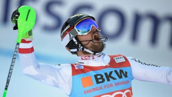 Ski: Marcel Hirscher remporte le slalom de Wengen
