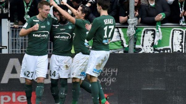 Ligue 1: les Verts respirent, Lyon veut humer l'air des sommets