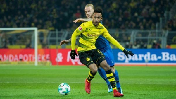Allemagne: Aubameyang de nouveau suspendu par Dortmund