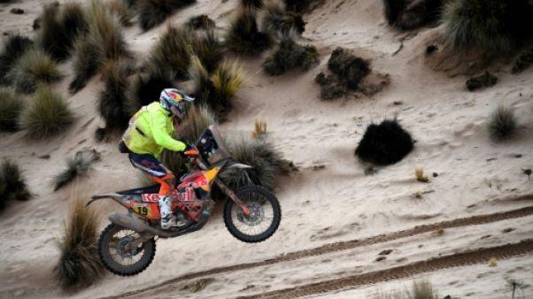Dakar: 2e victoire pour Meo, Van Beveren toujours leader en moto