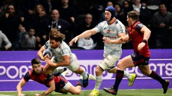 Rugby: le Racing reste en vie en Coupe d'Europe
