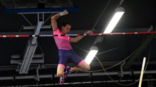 Perche: meilleure performance mondiale en salle à 5,86 m pour Lavillenie