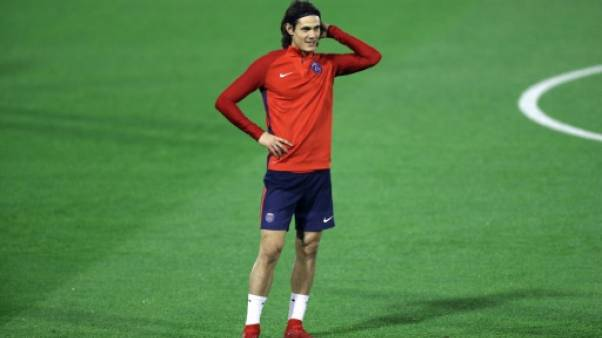 Ligue 1: Cavani titulaire avec le PSG à Nantes, Silva remplaçant
