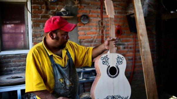 """Au Mexique, la guitare du film d'animation """"Coco"""" fait fureur"""