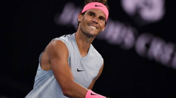 Open d'Australie: Nadal ne laisse que trois jeux en route au premier tour