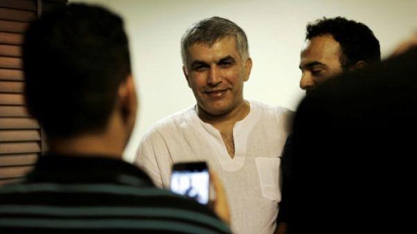 Bahreïn: le célèbre opposant Nabil Rajab restera en prison
