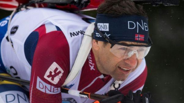 Biathlon: Bjoerndalen, sportif le plus titré absent aux JO de Pyeongchang
