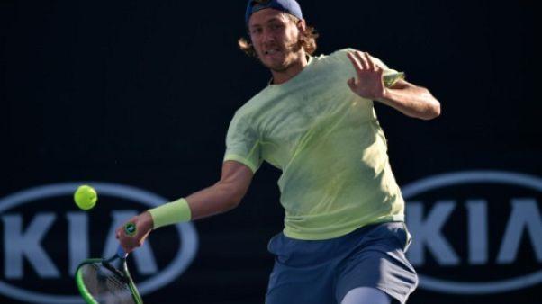 Open d'Australie: pas d'effet Coupe Davis pour Lucas Pouille