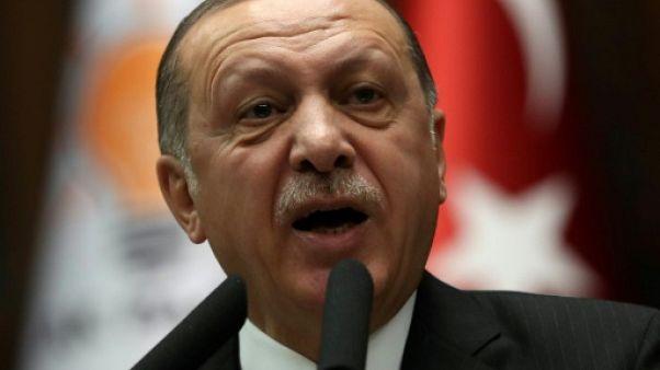 """Syrie: Erdogan menace la """"force frontalière"""" parrainée par Washington"""