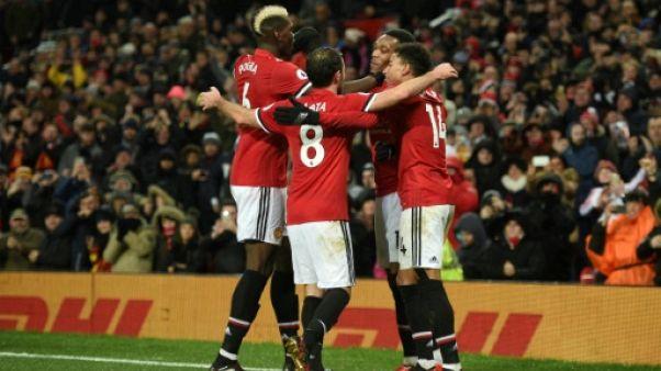 Angleterre: Manchester United serein contre Stoke