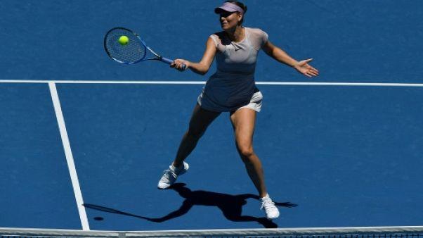 Open d'Australie: retour gagnant de Maria Sharapova