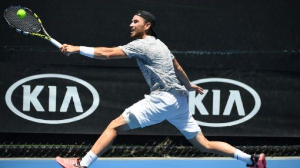 Open d'Australie: Mannarino retrouve le 2e tour