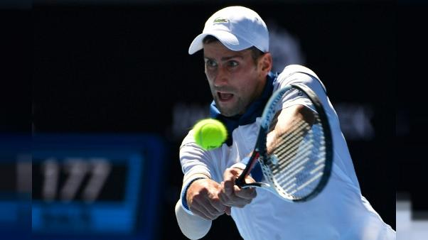 Open d'Australie: Djokovic se promène pour son retour