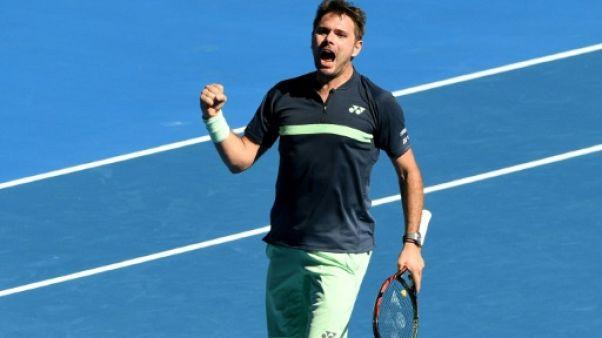 Open d'Australie: Wawrinka gagne son premier match depuis six mois