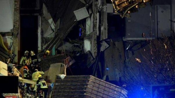 Explosion dans le centre d'Anvers: deux corps retrouvés dans les décombres