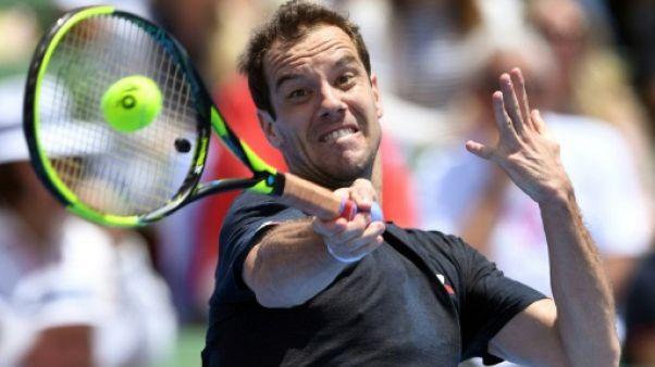 Open d'Australie: Richard Gasquet au deuxième tour en trois sets