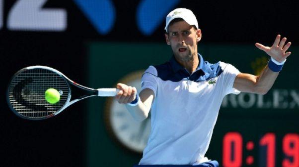 """Open d'Australie: rémunération des joueurs: Djokovic juge """"exagérés"""" les articles de presse"""