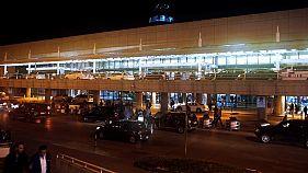 منظر عام لمطار بيروت الدولي في لبنان في صورة التقطت يوم التاسع من نوفمبر تشرين الثاني 2017. تصوير: محمد عزاقير - رويترز.