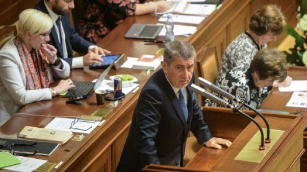 Le parlement tchèque refuse la confiance au gouvernement minoritaire d'Andrej Babis