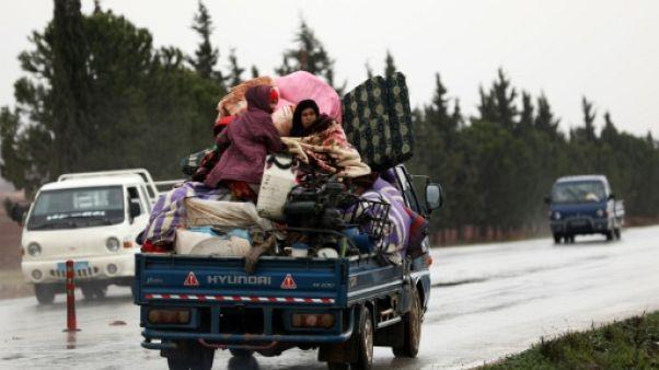 Syrie: les combats dans le nord-ouest ont fait 200.000 déplacés (ONU)
