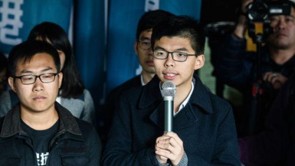 Hong Kong: le militant prodémocratie Joshua Wong à nouveau condamné à la prison
