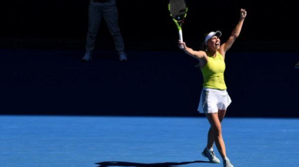 Open d'Australie: la formidable remontée de Wozniacki