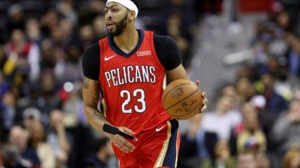 NBA: Les Pelicans gagnent à Boston avec un Anthony Davis conquérant