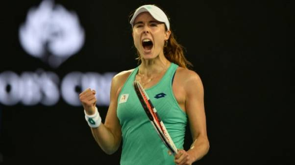Open d'Australie: Alizé Cornet élimine la 12e mondiale, Julia Goerges