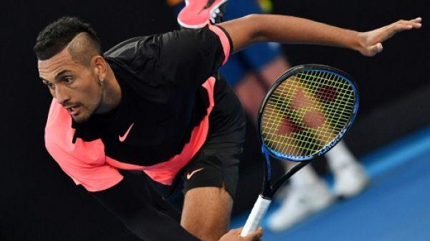 Open d'Australie: Kyrgios rejoint Tsonga au 3e tour