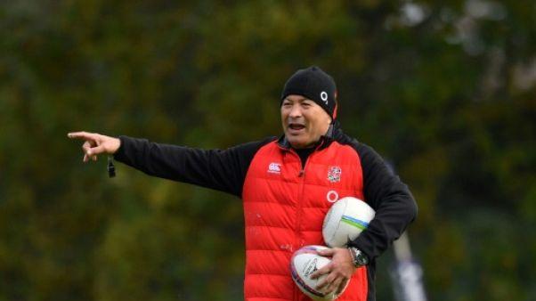 Rugby: le sélectionneur Eddie Jones prolonge avec l'Angleterre jusqu'en 2021