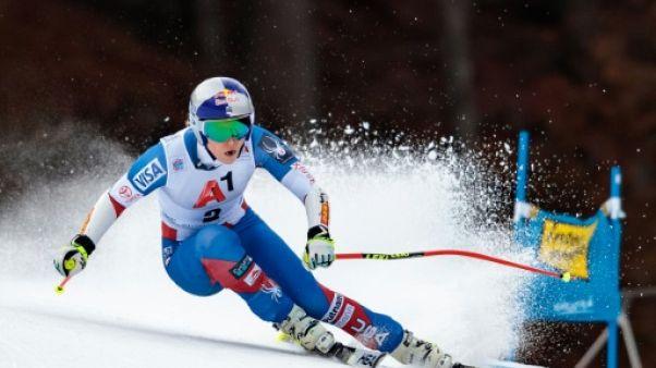 Ski: Vonn, meilleur temps de la 1re descente d'entraînement de Cortina