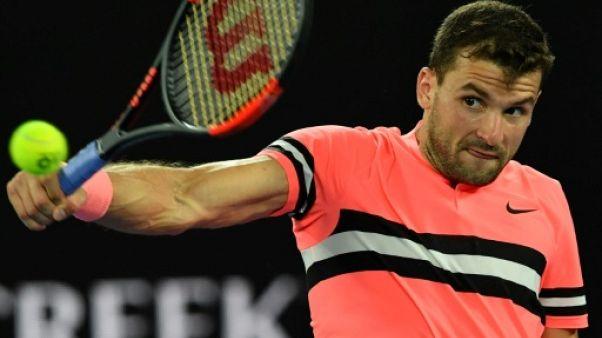 Open d'Australie: Dimitrov passe laborieusement au troisième tour