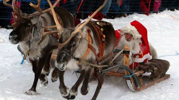Swedish roofs can handle Santa's sleigh - if he's careful