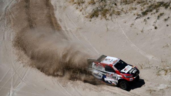 Dakar: victoire de Ten Brinke lors de la 11e étape, Sainz leader tranquille