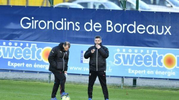 Bordeaux: Gourvennec présent à l'entraînement malgré la rumeur d'une mise à l'écart
