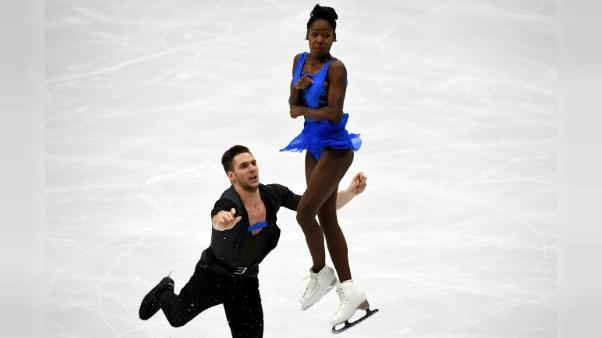 Patinage: James/Ciprès, l'or à portée de patins