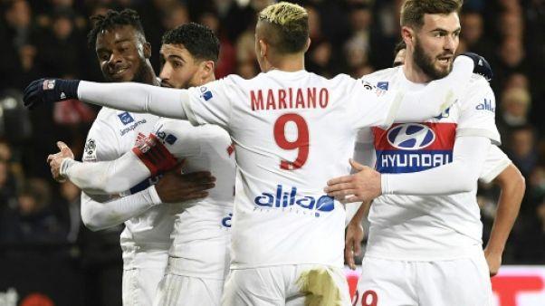 Ligue 1: Lyon s'empare de la 2e place