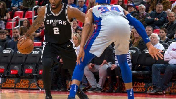 NBA : San Antonio rechute et nouvelle pause pour Kawhi Leonard