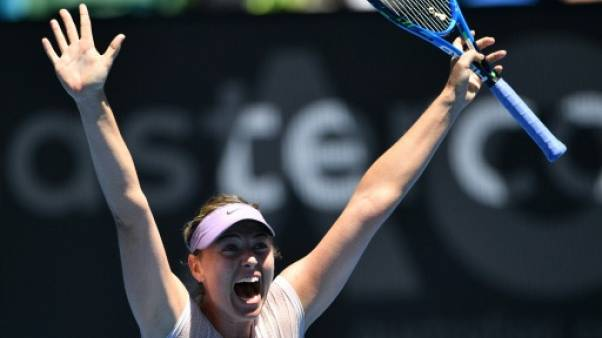 Open d'Australie: Sharapova prend sa revanche sur Sevastova