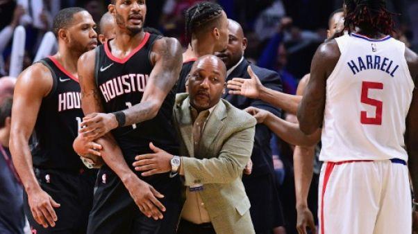 NBA: Ariza et Green sanctionnés après les incidents entre les Rockets et les Clippers