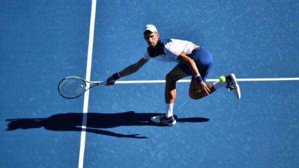 Open d'Australie: Djokovic élimine Monfils dans la chaleur