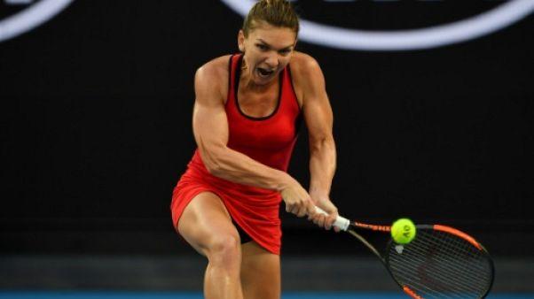 Open d'Australie: Simona Halep qualifiée pour le troisième tour