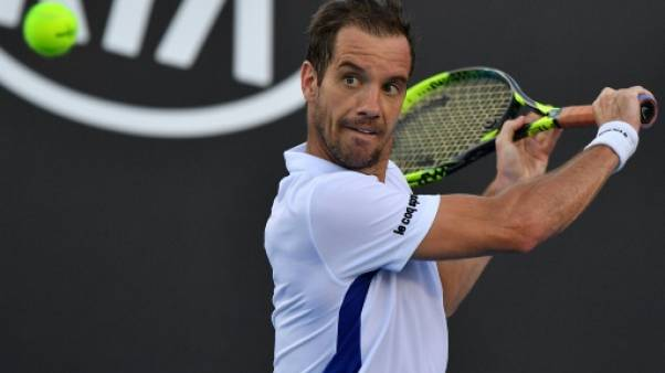 Open d'Australie: Gasquet qualifié pour le troisième tour
