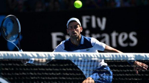 """Open d'Australie: les conditions étaient """"limite"""" à cause de la chaleur, selon Djokovic"""